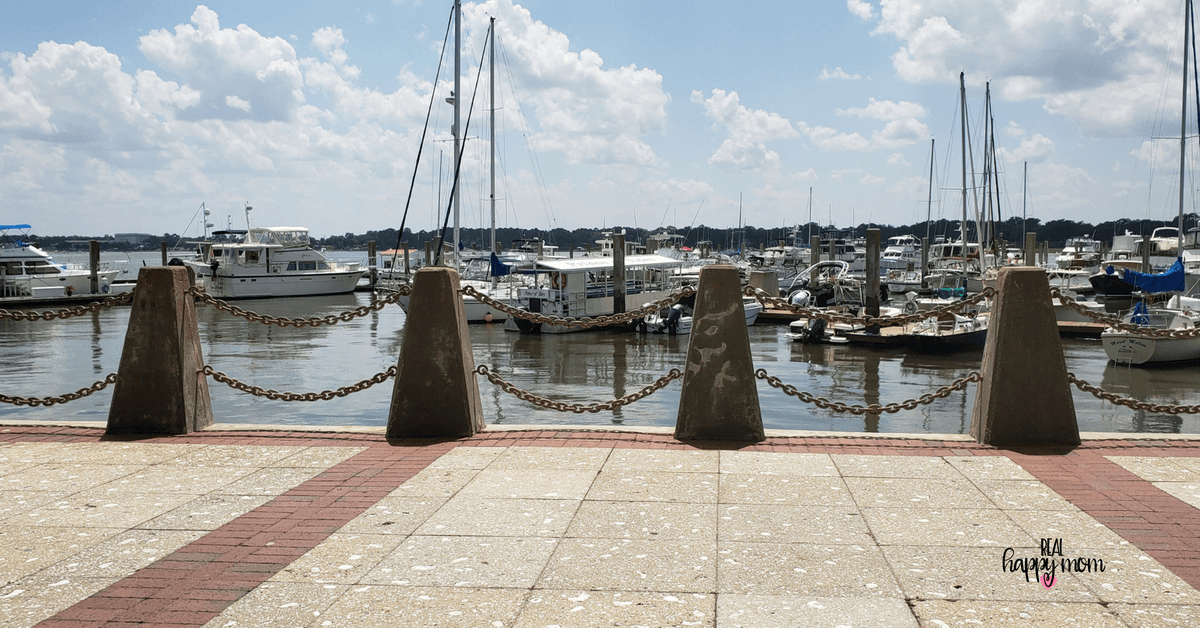 waterfront with boats