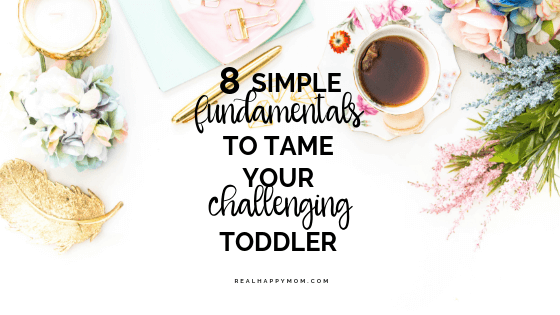 tips for taming your wild toddler