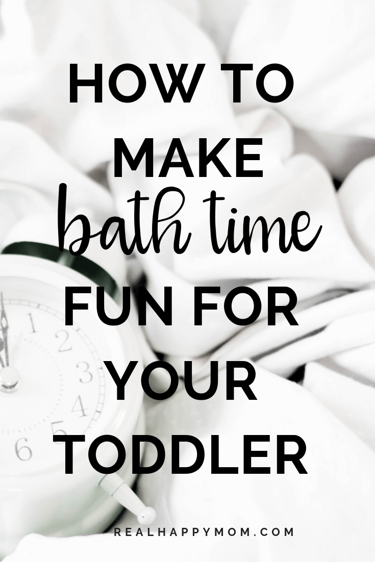 how to make bath time fun for your toddler