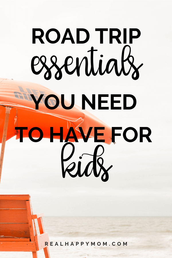 Road Trip Essentials You Need to Have for Kids