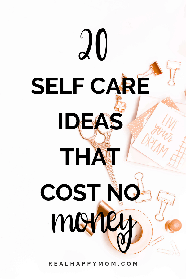 20 Self Care Ideas That Cost No Money
