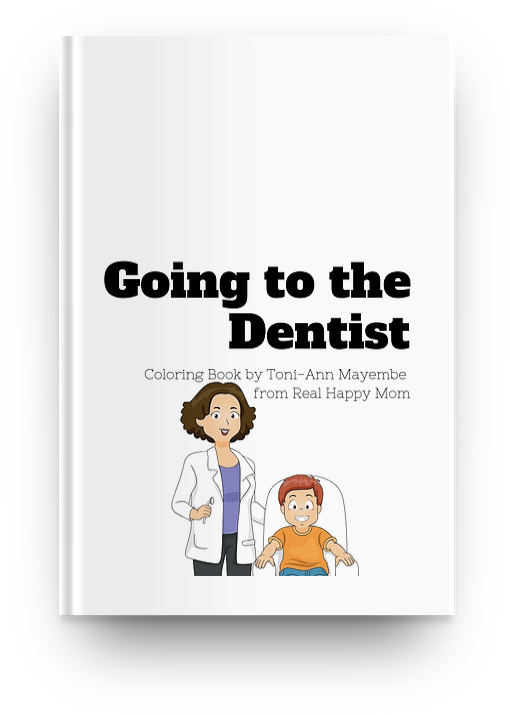 Going to the Dentist Coloring Book