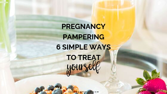 Pregnancy Pampering Ideas