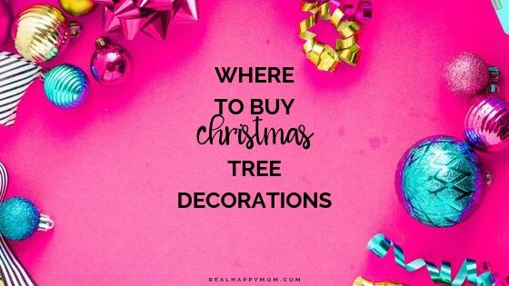 Where to Buy Christmas Tree Decorations