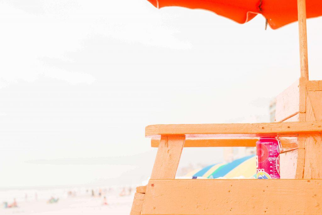 beach life guard chair