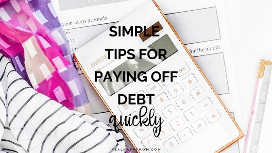 Simple Tips for Paying Off Debt Quickly