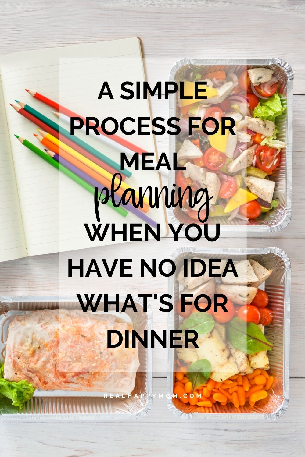 A Simple Process for Meal Planning When You Have No Idea What\'s for Dinner