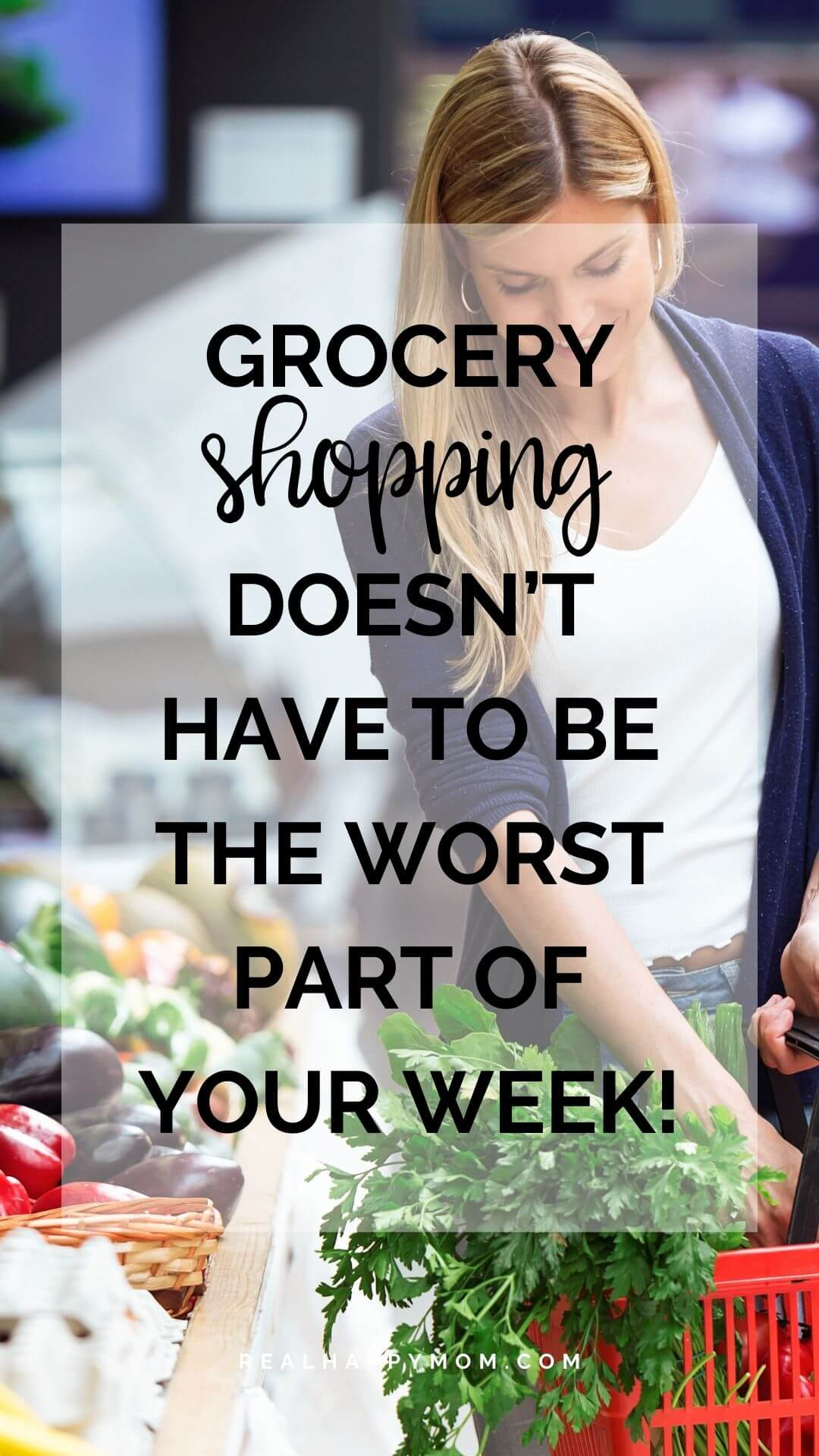 Grocery Shopping Doesn't Have to be the Worst Part of Your Week!