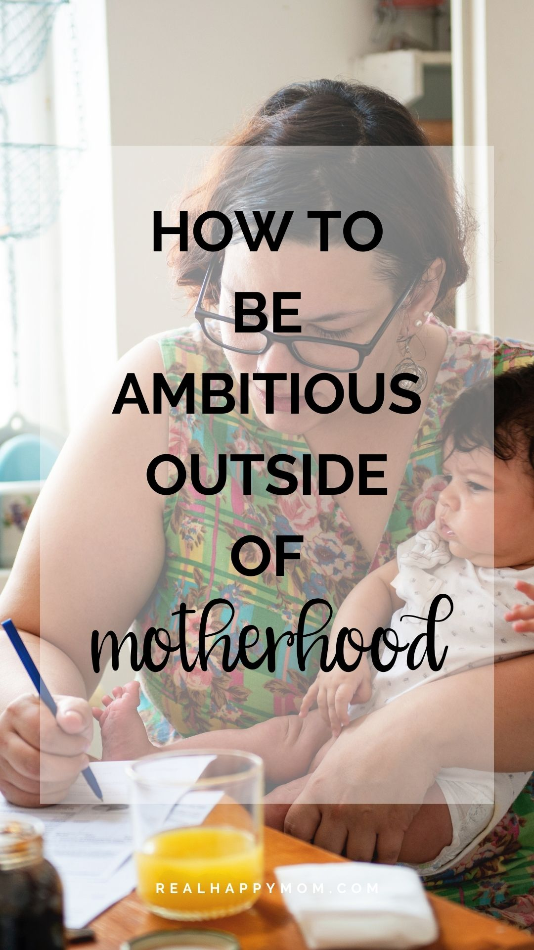 How to be ambitious outside of motherhood with